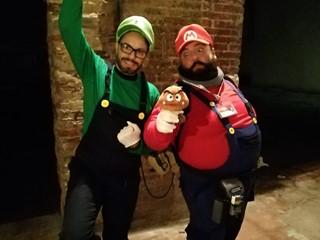 Super Mario e Super Luigi @guido anselmi